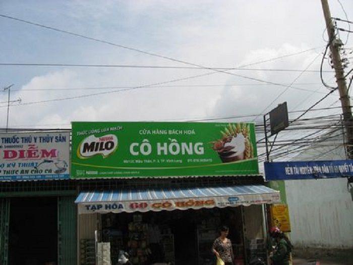 bảng hiệu hiflex cho cửa hàng