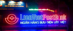 hộp đèn quảng cáo neon sign