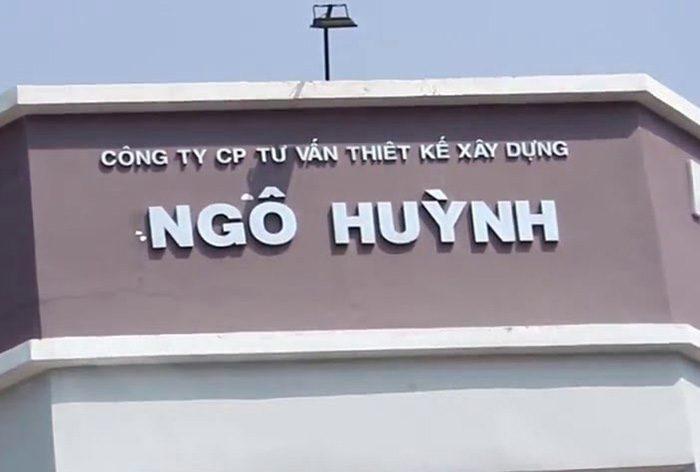 bảng hiệu công ty xây dựng