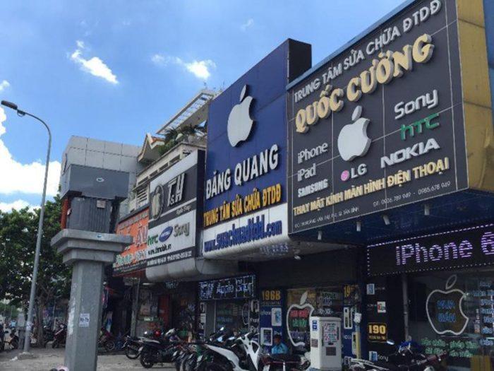 bảng hiệu cửa hàng điện thoại