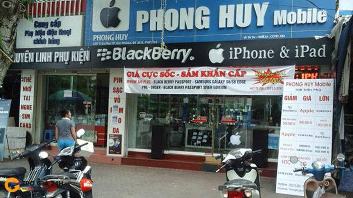 bảng hiệu cửa hàng điện thoại, shop