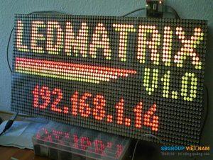 bảng đèn led matrix