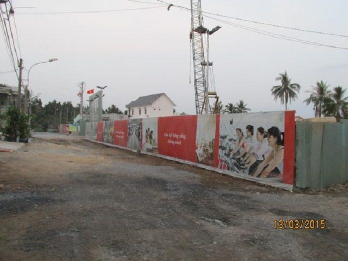 hàng rào công trình